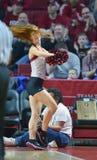 2015 baloncesto del NCAA - templo - UCF Fotografía de archivo libre de regalías