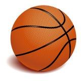 Baloncesto en el vector blanco Fotos de archivo
