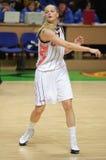 Baloncesto Euroleague de las mujeres Foto de archivo