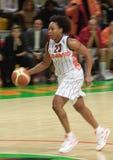 Baloncesto Euroleague de las mujeres Imagen de archivo libre de regalías