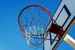 Baloncesto hoop-1 del panel imágenes de archivo libres de regalías