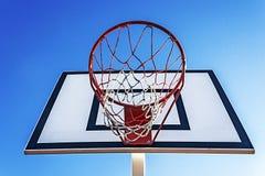 Baloncesto hoop-5 del panel imágenes de archivo libres de regalías