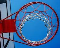 Baloncesto hoop-3 del panel Imagen de archivo libre de regalías