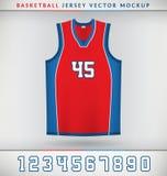Baloncesto Jersey Imágenes de archivo libres de regalías