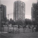 Baloncesto | Novi Sad | Serbia Foto de archivo libre de regalías