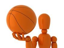 Baloncesto para usted. Fotos de archivo libres de regalías