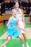 Baloncesto ruso 2009 de las mujeres Fotografía de archivo libre de regalías