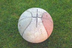 Baloncesto sucio Fotografía de archivo