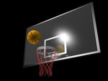 Baloncesto y tablero trasero libre illustration