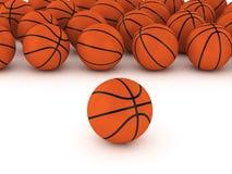 Baloncestos Foto de archivo libre de regalías