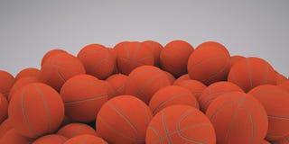 Baloncestos del grupo stock de ilustración