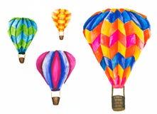 Balones de aire coloridos imagenes de archivo