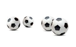 Balones de fútbol Fotografía de archivo libre de regalías