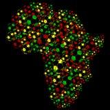 Balones de fútbol de África Fotos de archivo libres de regalías