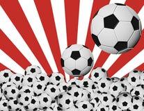 Balones de soccer Fotos de archivo