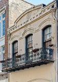 Baloney Windows w dzielnicie francuskiej i plantatorzy obraz stock