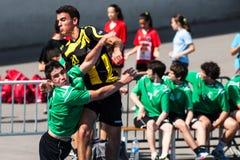 Balonmano 2013 de GCUP. Granollers. Imagenes de archivo