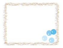 balonowa granica Zdjęcie Royalty Free