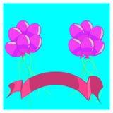 Balonowa ilustracja ilustracji