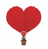 balonowa miłość Zdjęcia Royalty Free