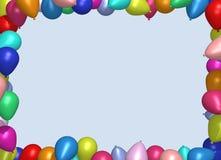 Balonowa rama Zdjęcie Stock