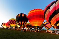 Balonowa łuna Zdjęcie Stock