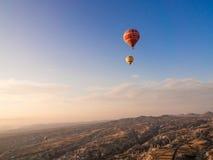 Balonowa wycieczka turysyczna w Goreme Zdjęcie Royalty Free