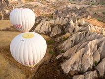 Balonowa wycieczka w Cappadocia Obrazy Royalty Free