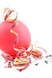 balonowi partyjni streamers Obraz Stock