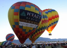 balonowy Albuquerque fiesta obraz royalty free