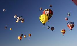 balonowy Albuquerque fiesta zdjęcie stock
