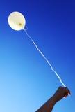 balonowy biel Zdjęcia Royalty Free