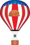 balonowy dziękczynienie royalty ilustracja