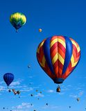 balonowy festiwal Obraz Royalty Free