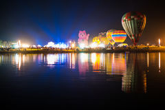 Balonowy festiwal, Singhapark zawody międzynarodowi balonu fiesta 2017, Ch Fotografia Royalty Free