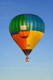 balonowy latający wschód słońca Fotografia Stock