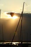 Balonowy lot Obrazy Royalty Free