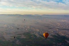 Balonowy lot w Luxor, pięknym obraz stock