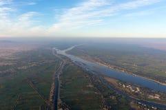 Balonowy lot w Luxor, pięknym Zdjęcie Stock