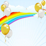 balonowy niebo Obraz Royalty Free