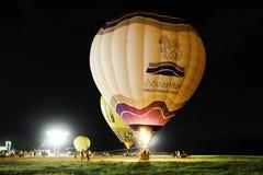 Balonowy przedstawienie, TAJLANDIA STYCZEŃ 27, 2018 Obraz Stock