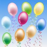balonowy przyjęcie Zdjęcia Royalty Free