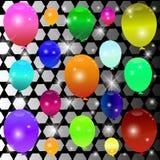 Balonowy tło. Fotografia Royalty Free