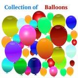 Balonowy tło. Obraz Stock