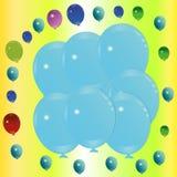 Balonowy tło. Zdjęcie Stock