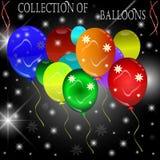 Balonowy tło. Obrazy Stock