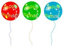 balonowy urodziny royalty ilustracja