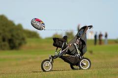 balonowy wózek Obrazy Stock