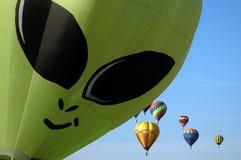 Balonowy wiec fotografia stock
