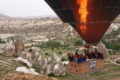 balonowy wydźwignięcie Zdjęcia Stock